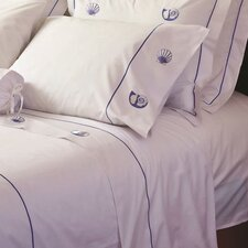 200 Thread Count Scallop and Pearl Nautilus Sheet Set