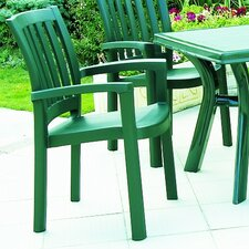 Sunshine Stacking Dining Arm Chair (Set of 4)