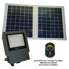 Outdoor Solar Color Changing Flood Light