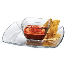 Soho Chip and Dip Tray