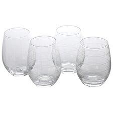 Stemless 17 Oz. Wine Glass (Set of 4)