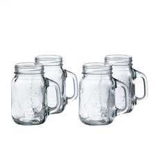 La Maison 16 oz. Mason Jar (Set of 4)