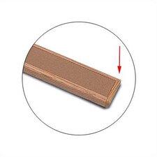 Map Rail Accessories - Oak End Plate - Single Plate
