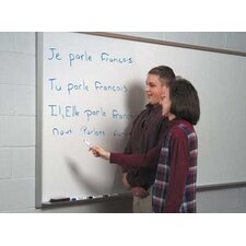 Pro-Rite Magnetic Wall Mounted Whiteboard, 3' x 4'