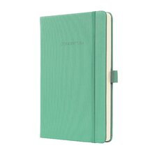 Sigel Hardcover Lined Notebook - Pocket Size with Elastic Closure