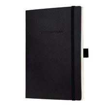 Sigel Softcover Graph Notebook - Large Size with Elastic Closure