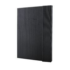 Sigel Hardcover Lined Notebook - Large Size with Magnetic Closure
