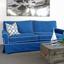 Sandy Slipcovered Sofa