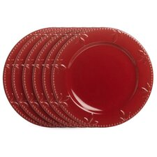 "Sorrento Ruby 11"" Dinner Plate (Set of 4)"