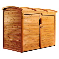 5 Ft. W x 3 Ft. D Wood Storage Shed