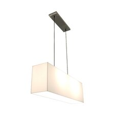 2 Light Kitchen Island Pendant