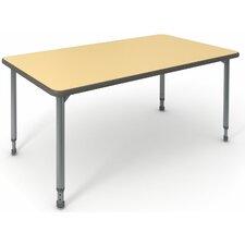"A&D 30"" x 60"" Rectangular Classroom Table"
