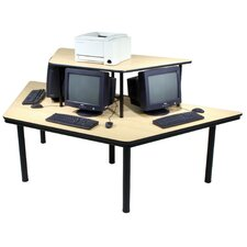Economy 3 Station Multi-User Training Table