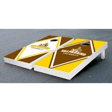NCAA Diamond Wooden Cornhole Game Set