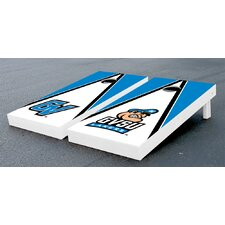 NCAA Alternating Triangle Wooden Cornhole Game Set