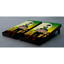 Look Alive and Throw Zombie Themed Cornhole Boards Game Set