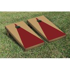 Triangle Matching No Stripes Version 1 Cornhole Boards Game Set