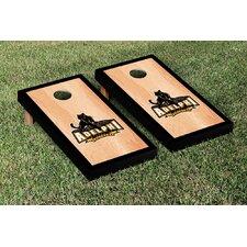 NCAA Hardcourt Wooden Cornhole Game Set