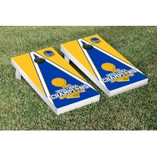 NCAA Triangle Version Cornhole Game Set