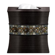Mosaic Rainbow Boutique Tissue Box