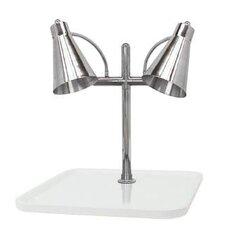 Flex Dual Stainless Steel Lamp Square Carving Station