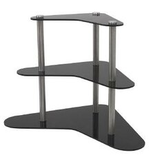 Winged 3 Tier Food Display Riser Tiered Stand