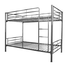 Twin Bunk Bed with Built-In Ladder II