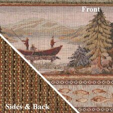 Gone Fishing Deluxe Woven Cover