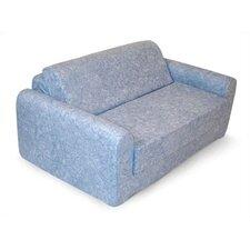 Children's Foam Sleeper Sofa - Denim