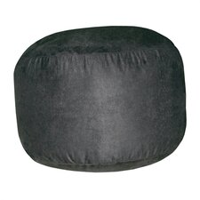 Urban Suede Bigfoot Footstool- Black