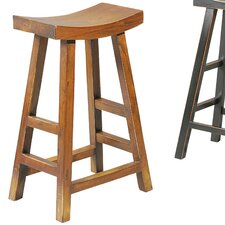 "Crescent 25"" Bar Stool (Set of 2)"