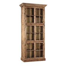 "Fir Single Stack 84"" Barrister Bookcase"
