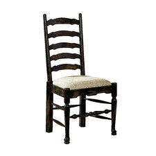 English Country Upholstered Side Chair (Set of 2)