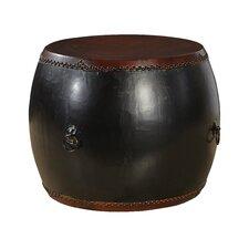 Antique Drum End Table