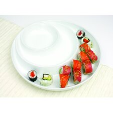 Entertainment Serveware Concentric Circles Platter