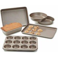 Heavy Gauge Nonstick 6 Piece Bakeware Set