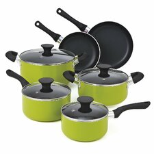 Non Stick 10 Piece Cookware Set