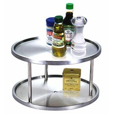 10-1/2-Inch 2 Tier Lazy Susan