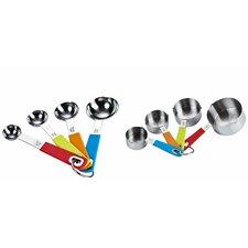Cook N Home 8 Piece Measuring Spoon & Cup Set
