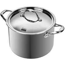 Multi-Ply Clad Stainless-Steel 8-Quart Covered Stockpot