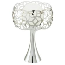 """Oxana 12.88"""" H Table Lamp with Sphere Shade"""