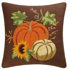 Autumn Splendo Rice Stitch Throw Pillow