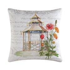 Garden Folly Accent Cotton Throw Pillow