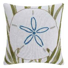 Sanddollar Accent Cotton Throw Pillow