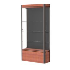 Contempo Series Lighted Floor Display Case