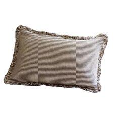 Farmhouse Stripe Cotton Lumbar Pillow