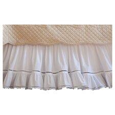 Prairie Crochet Cotton Bed Skirt
