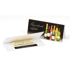 Personalized Champagne Label