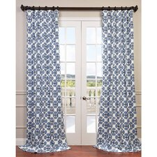 Clover Twill Single Curtain Panel