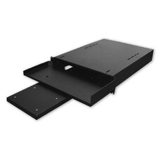 "24""D Hide-Away Keyboard Shelf with Pull-Out Mouse Tray - 1 RU"